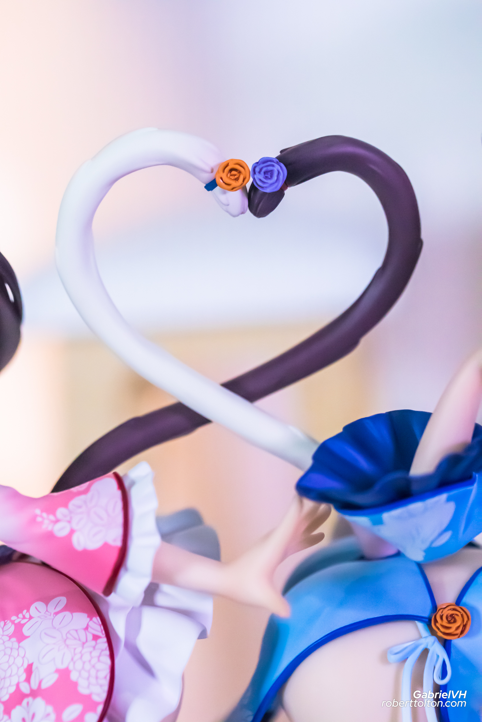 Nekopara Vanilla Chocola Chinese Dress edition illustration by Sayori DX Ver 11