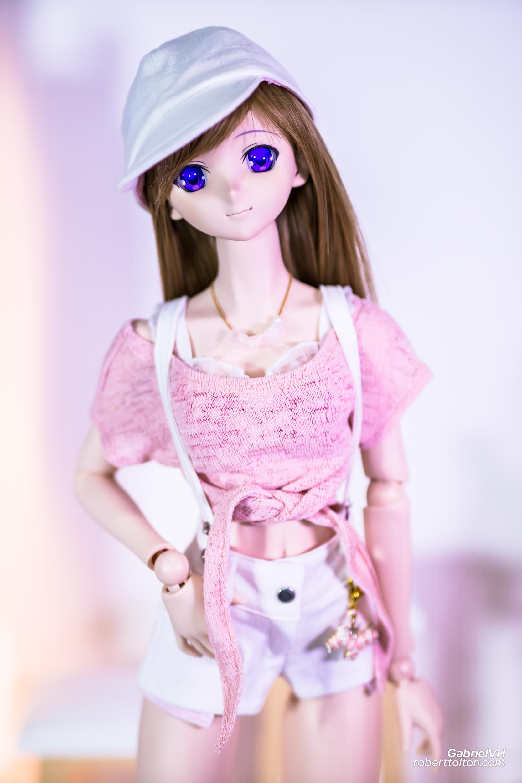Sakura Pink White Casual Outfit 2